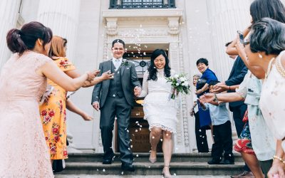 Kim & Ryan – Old Marylebone Town Hall Wedding Previews