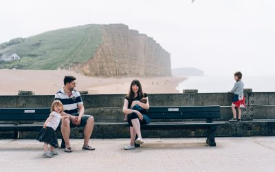 West Bay Dorset Family Photography