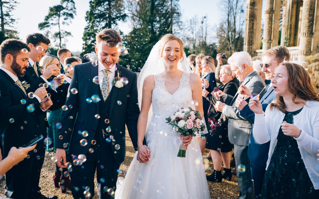 Claire & Matt's Orchardleigh House Wedding Previews