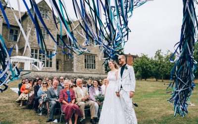 Flo & Alex's Wilderhope Manor Humanist Wedding
