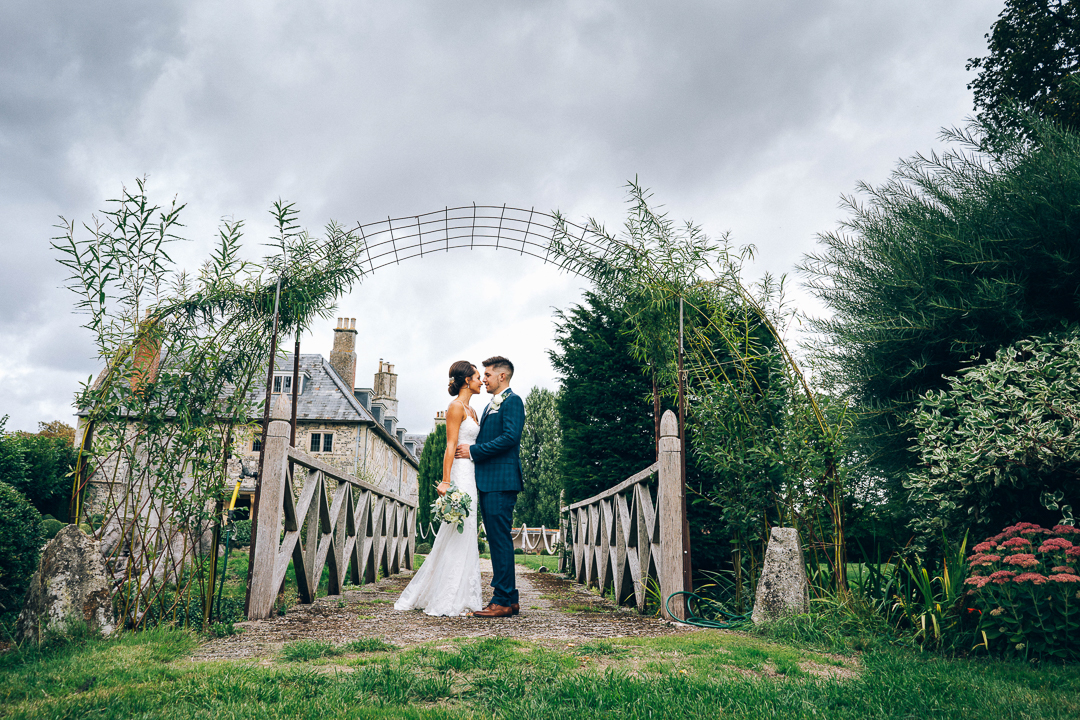 The Manor Barn Winterbourne Stoke Wedding image