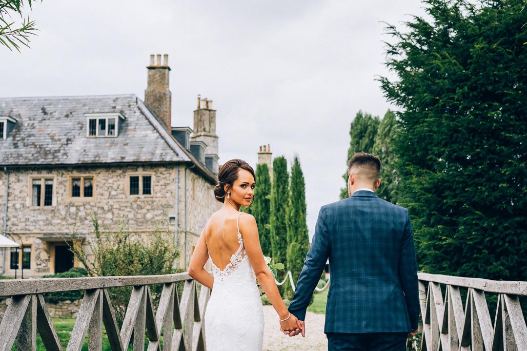The Manor Barn Winterbourne Stoke Wedding image