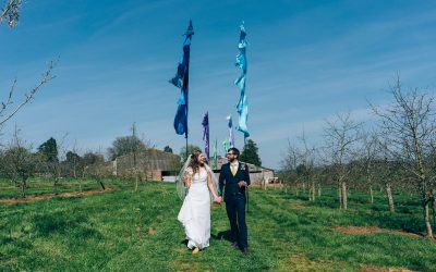 The Corn Barn Devon – Bryony & Steve's Wedding Previews