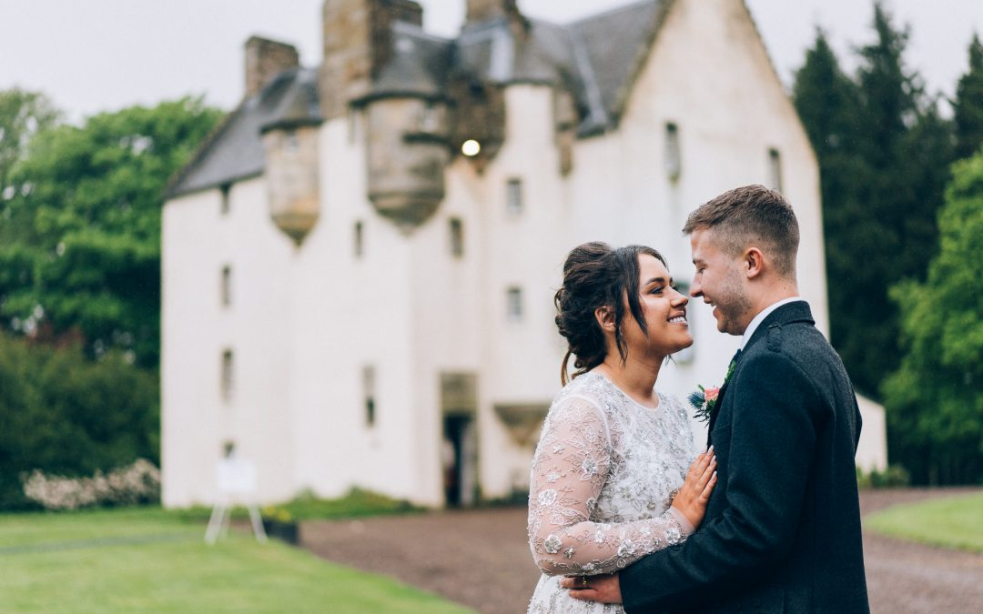 Lowenna & Craig – Tullibole Castle Wedding Previews