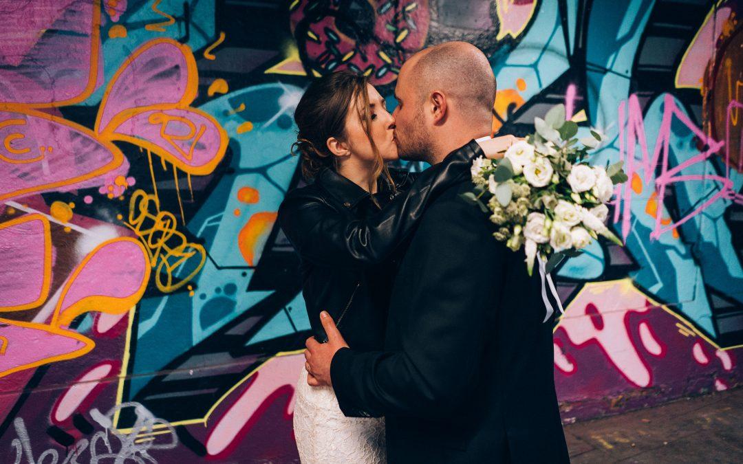 Old Marylebone Town Hall intimate wedding of Jill & Paul