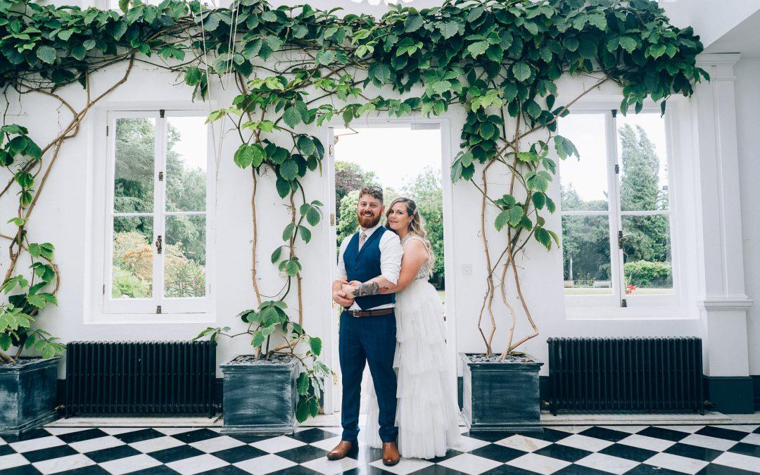 Fun & Colourful Garden Wedding of Lauren & James