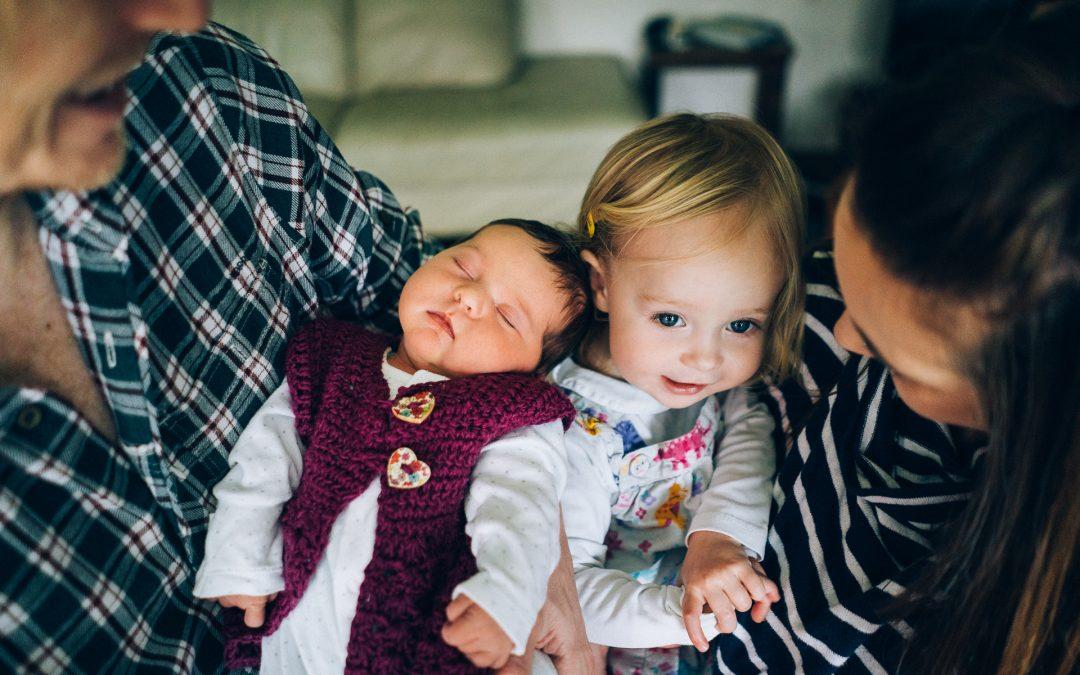 Newborn Family Photography Devon – The Haines'