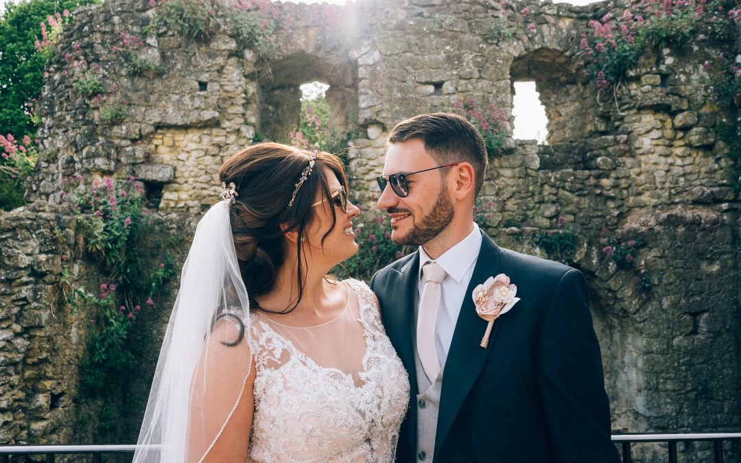 Glittery Castle Wedding of Lisa & James