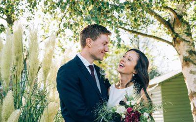Elegant Tipi Garden Wedding of Megan & Josh