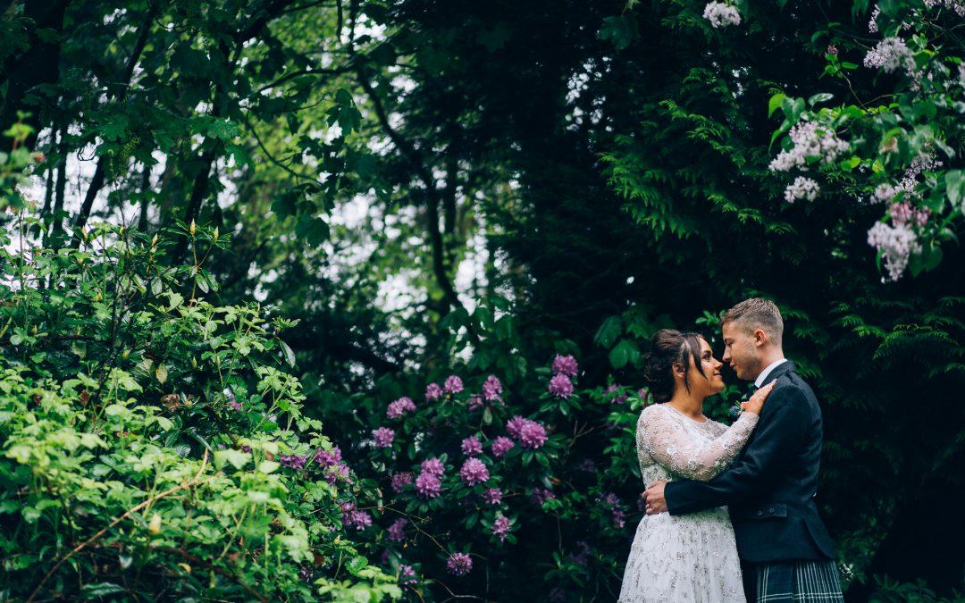 Awesome Tullibole Castle Wedding of Lowenna & Craig