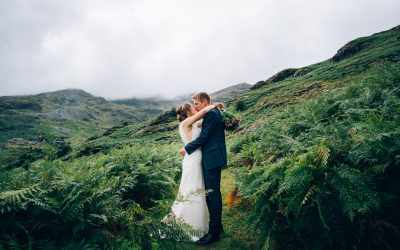 H&S – Coppermines Lake District Wedding Previews