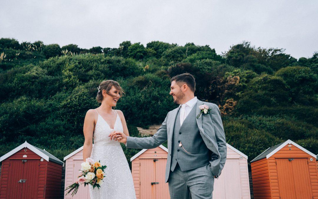 I&A Bournemouth Beach Wedding Previews